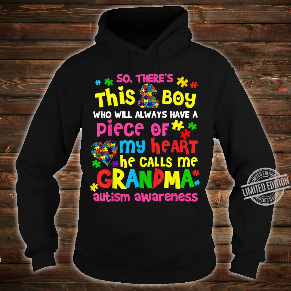 Proud Autism Grandma Shirt hoodie