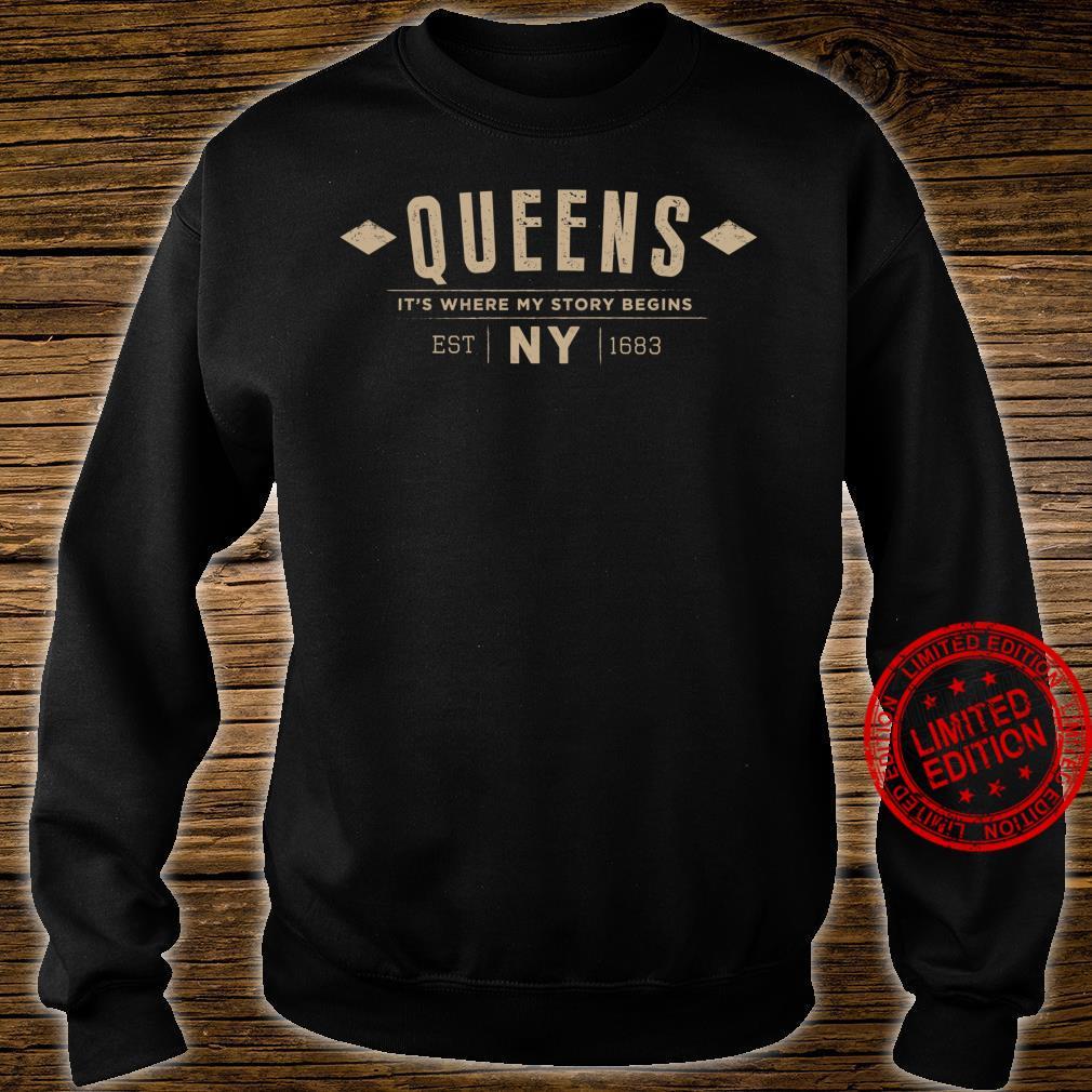 Queens NY Shirt Queens New York Shirt sweater