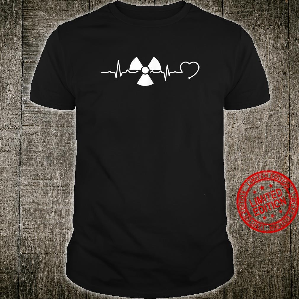 Radiology Heartbeat Rad Tech Radiologist Xray Tech Shirt