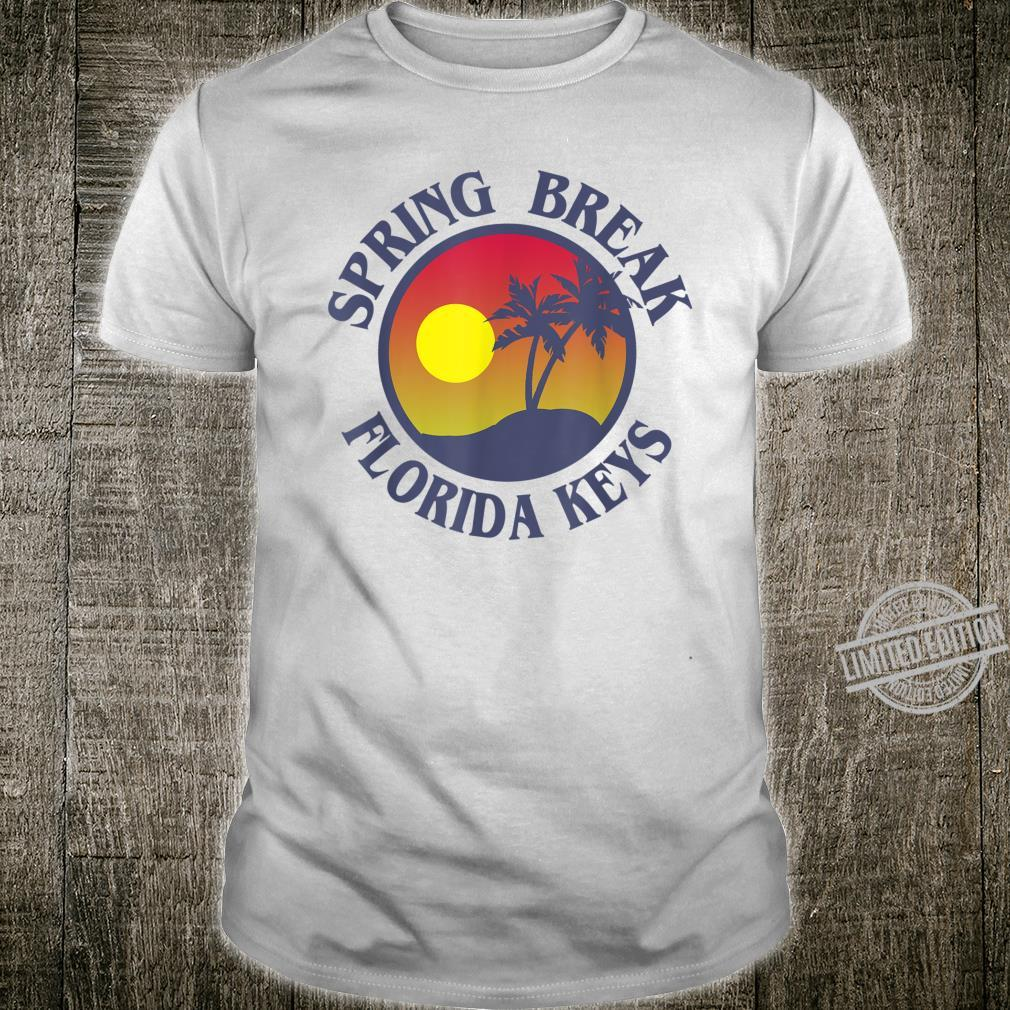 Spring Break Trip Florida Keys Family College Group Vacation Shirt