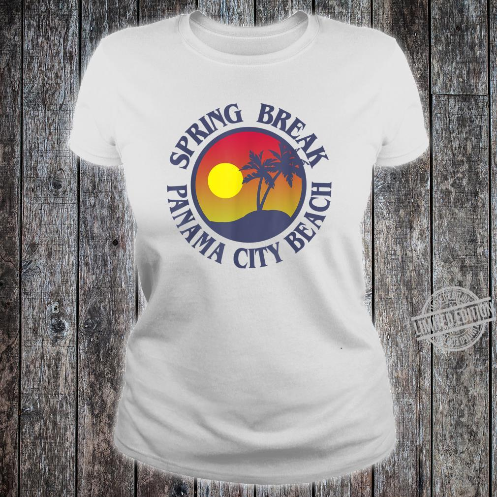 Spring Break Trip Panama City Beach Florida Group Vacation Shirt ladies tee