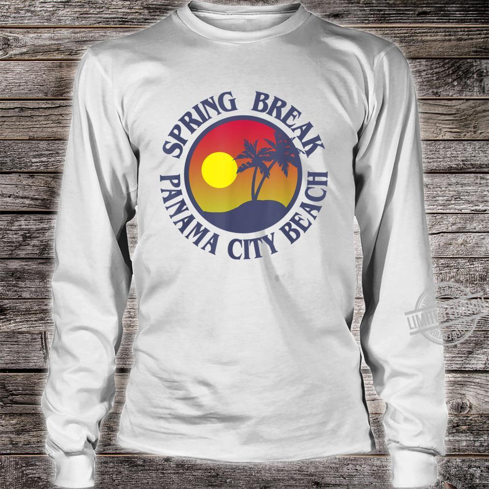 Spring Break Trip Panama City Beach Florida Group Vacation Shirt long sleeved