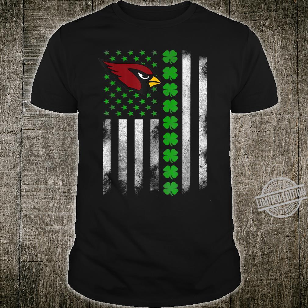 St patrick day football Flag Team ArizonaCardinal Shirt
