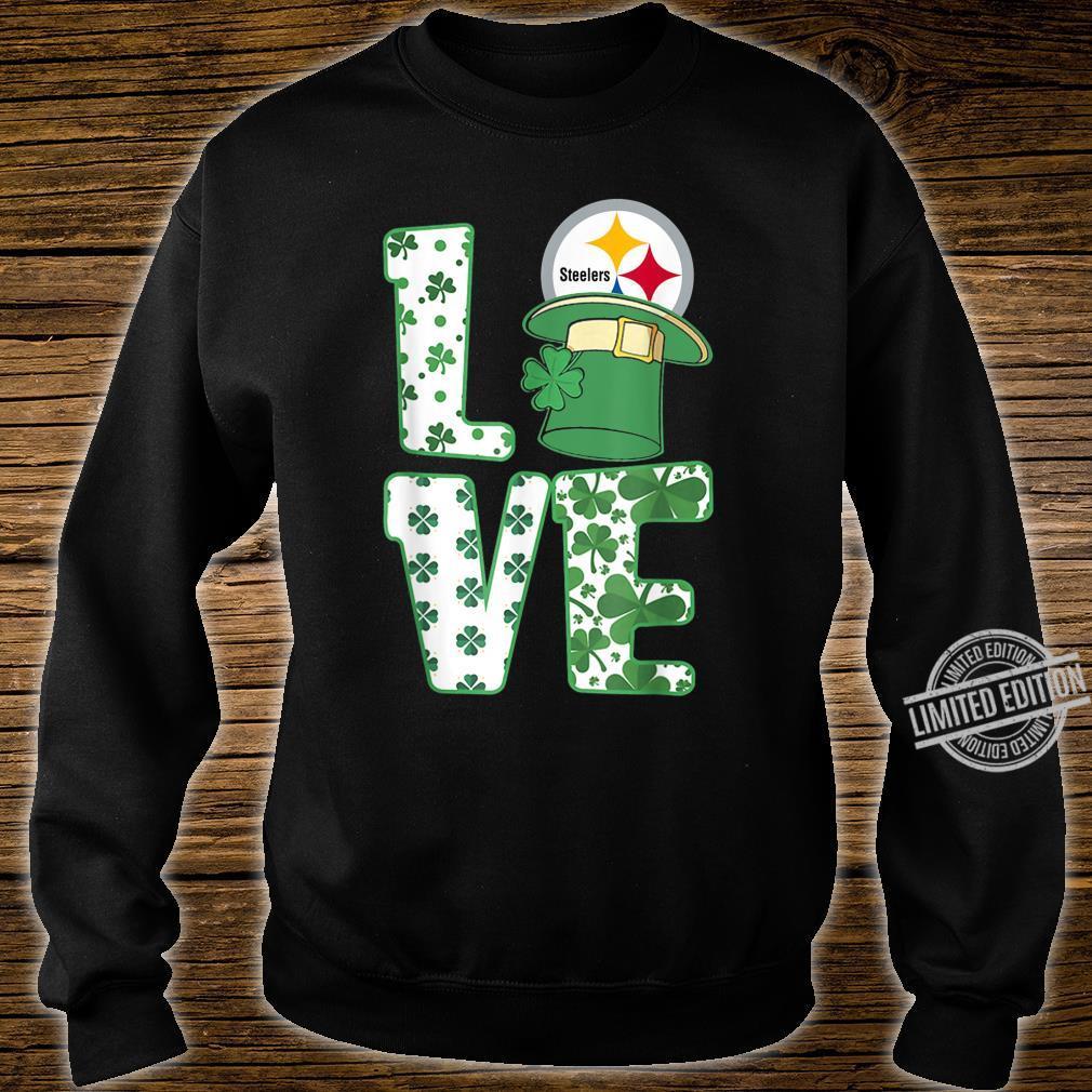 St.Patrick's Day Football Love Team PittsburghSteeler Shirt sweater