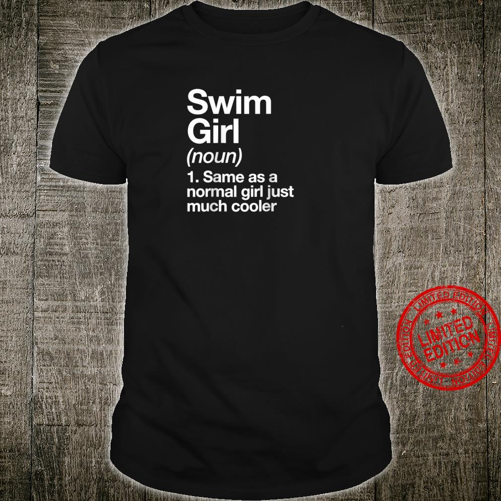 Swim Girl Definition & Sassy Sports Shirt