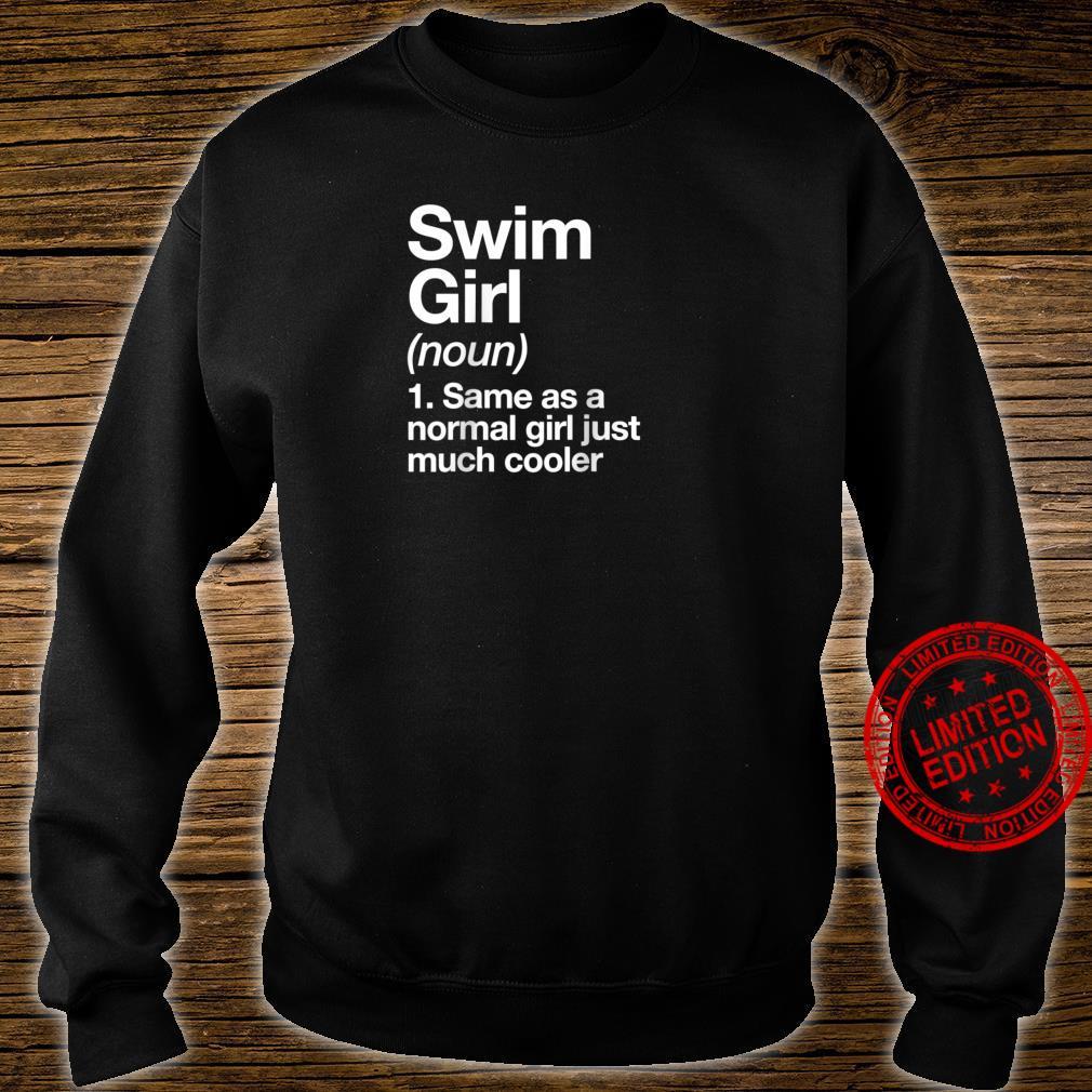 Swim Girl Definition & Sassy Sports Shirt sweater