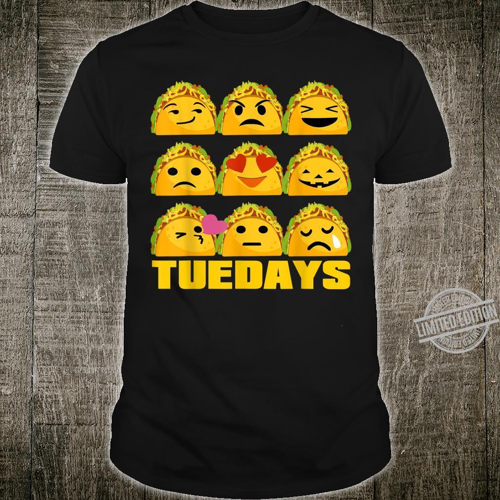 Taco Tuesday shirt Tacos Emoji For Tacos Shirt