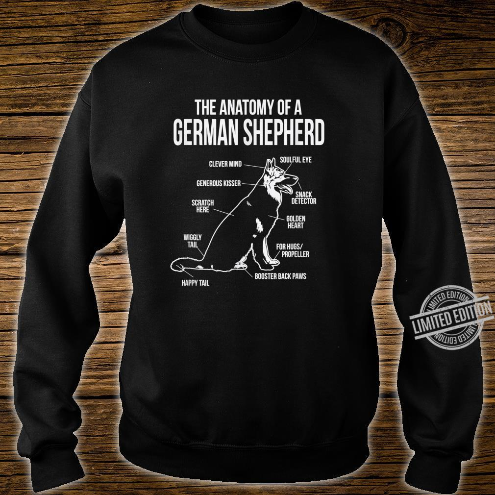 The Anatomy Of A German Shepard Dog Breed Shirt sweater