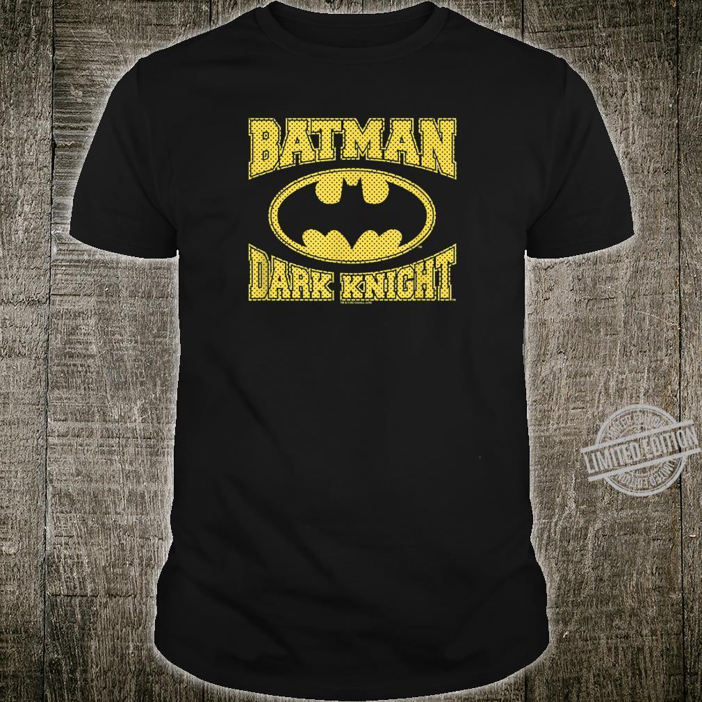 The Dark Knight Batman Dark Knight Jersey Shirt