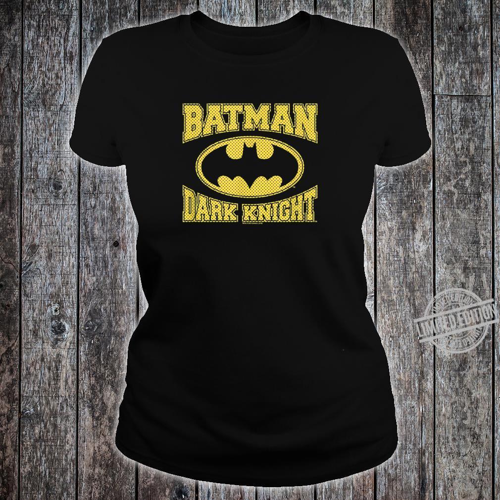 The Dark Knight Batman Dark Knight Jersey Shirt ladies tee