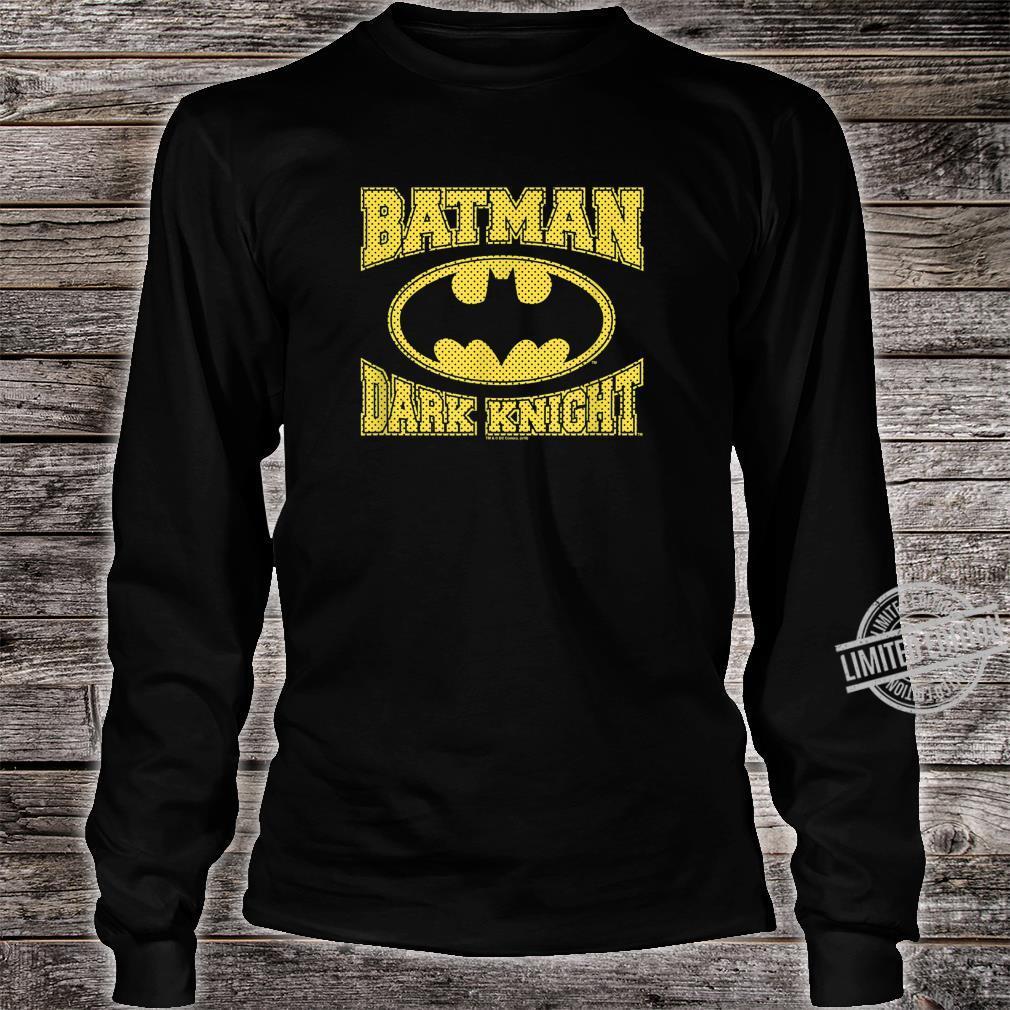 The Dark Knight Batman Dark Knight Jersey Shirt long sleeved