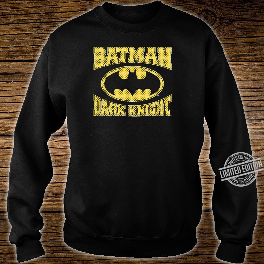The Dark Knight Batman Dark Knight Jersey Shirt sweater