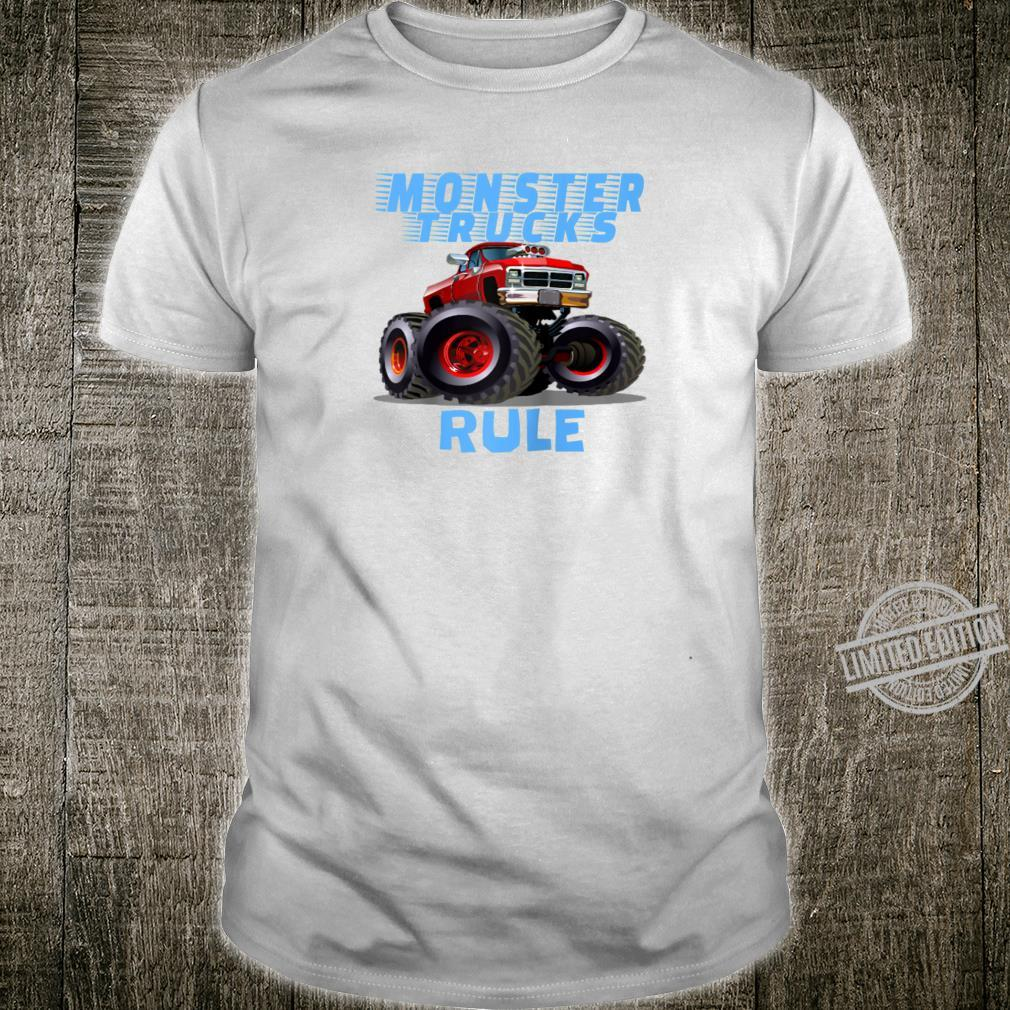 The perfect Monster Trucks Rule girls Shirt