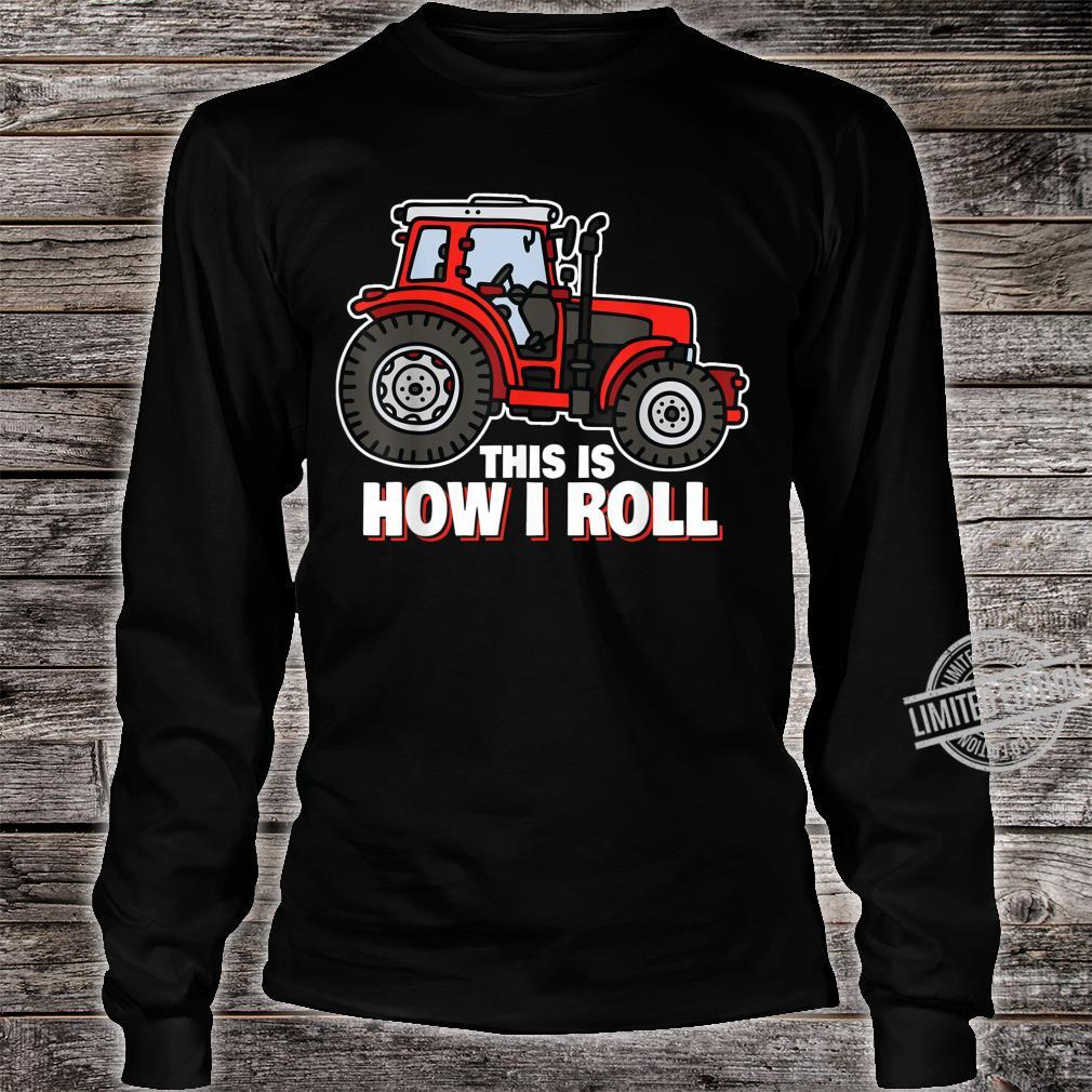 Tractor Farmer Saying Vintage Quotes Sayings Shirt long sleeved