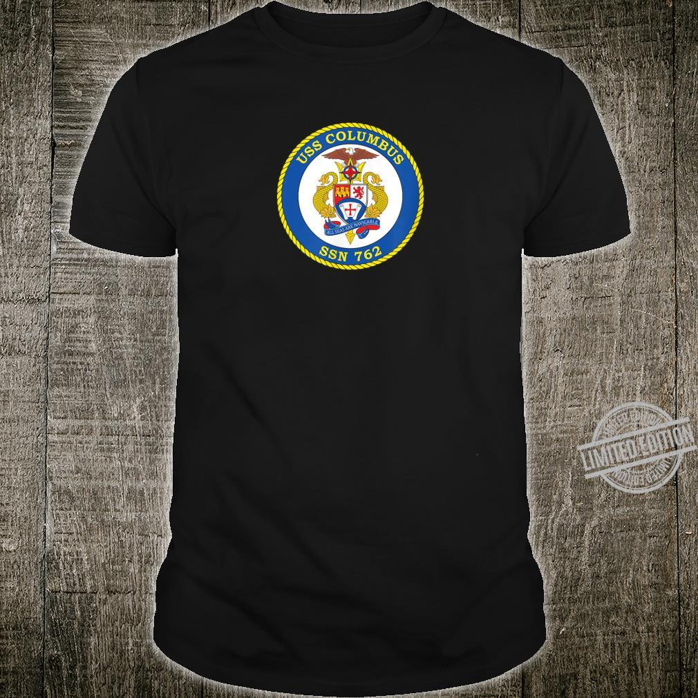 USS Columbus SSN762 Shirt
