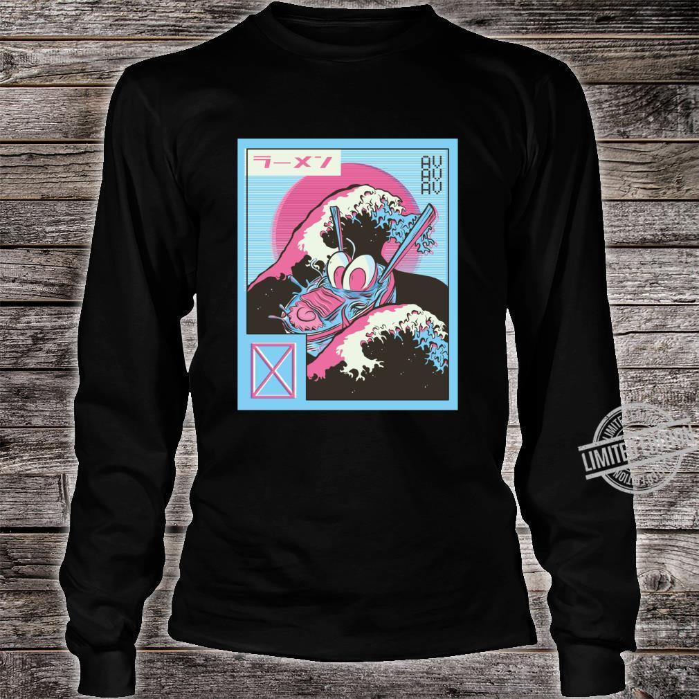 Vaporwave Aesthetic Edgy Japan Tokio Grunge Style Streetwear Shirt long sleeved