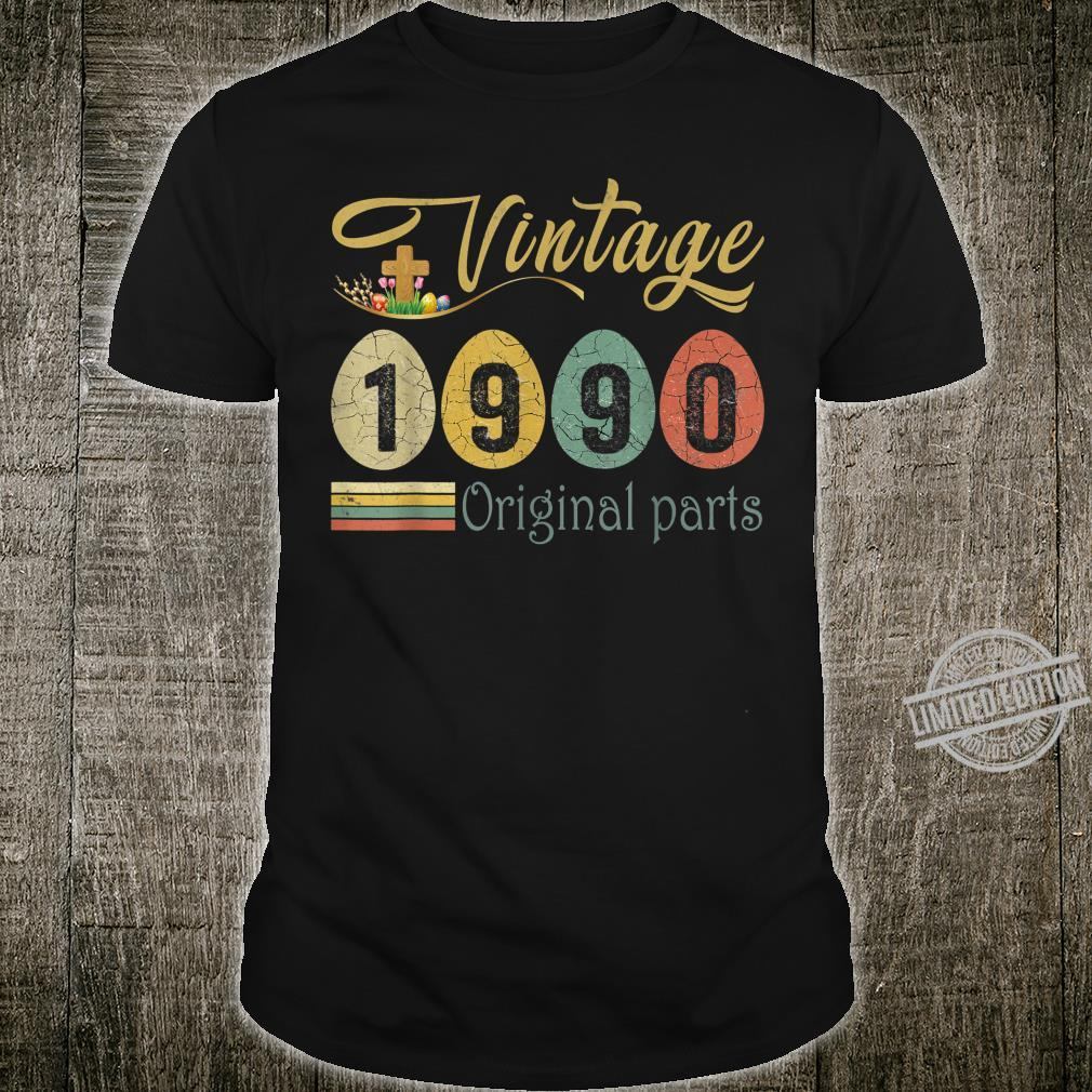 Vintage 1990 30 Years Old 30th Birthday Made In 1990 Shirt