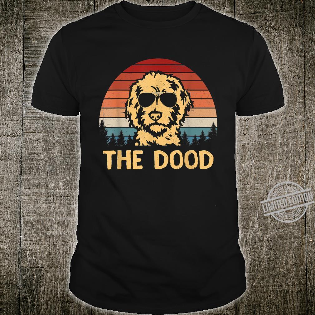 Vintage Goldendoodle The Dood Dad Mom Shirt