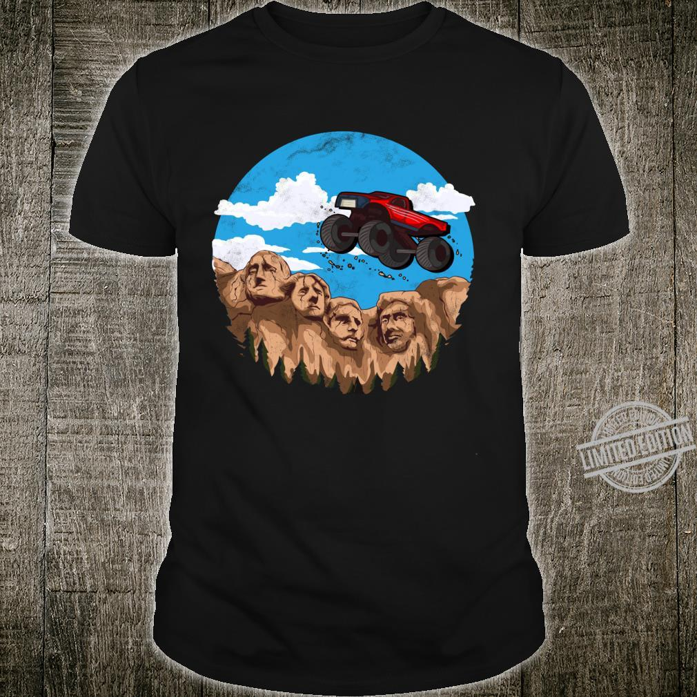 Vintage Monster truck t and toddlers South Dakota t Shirt