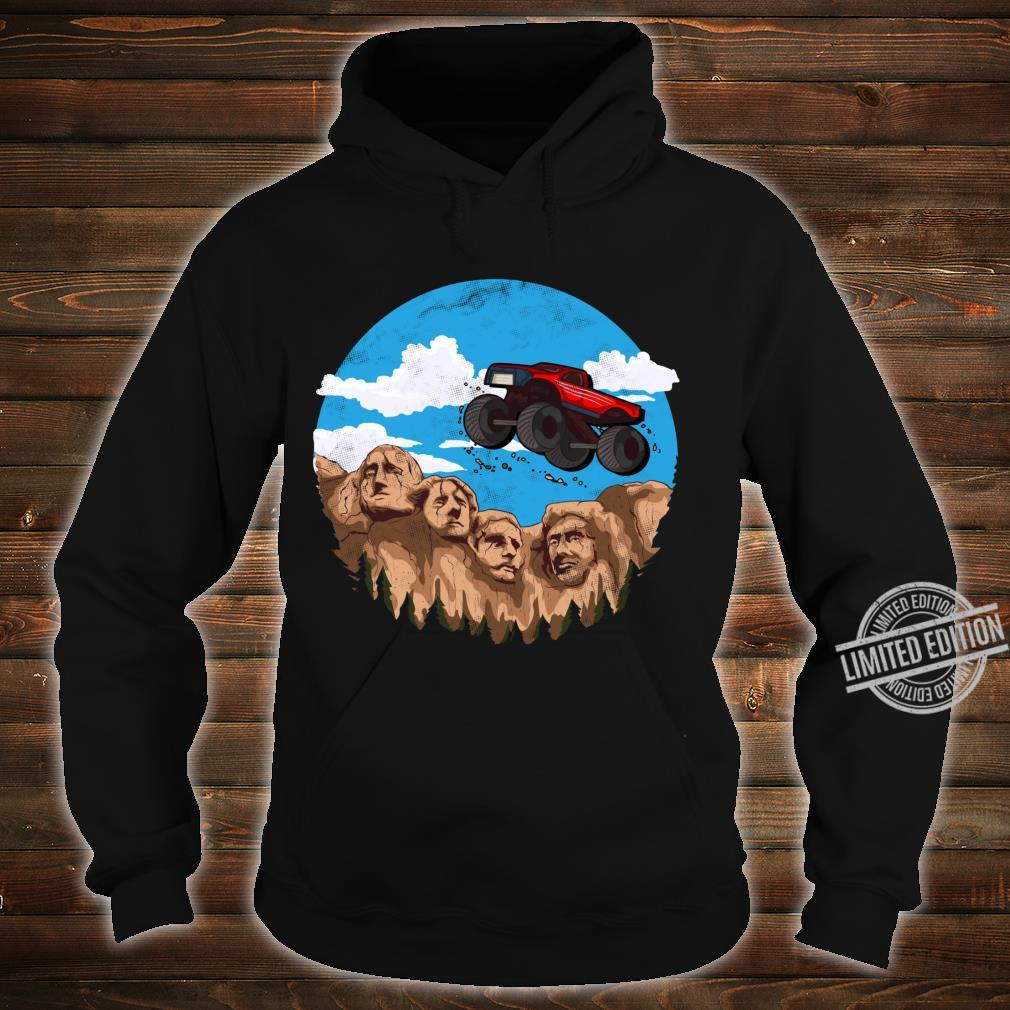 Vintage Monster truck t and toddlers South Dakota t Shirt hoodie