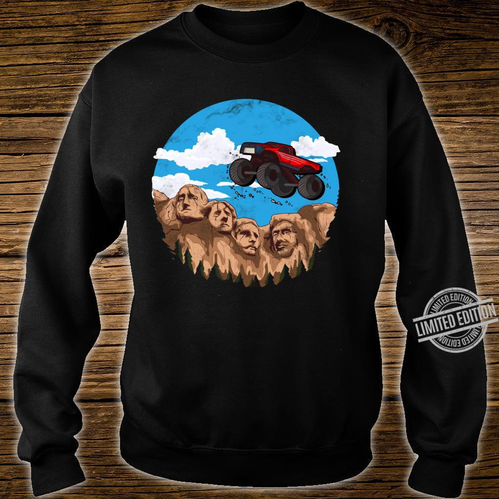 Vintage Monster truck t and toddlers South Dakota t Shirt sweater