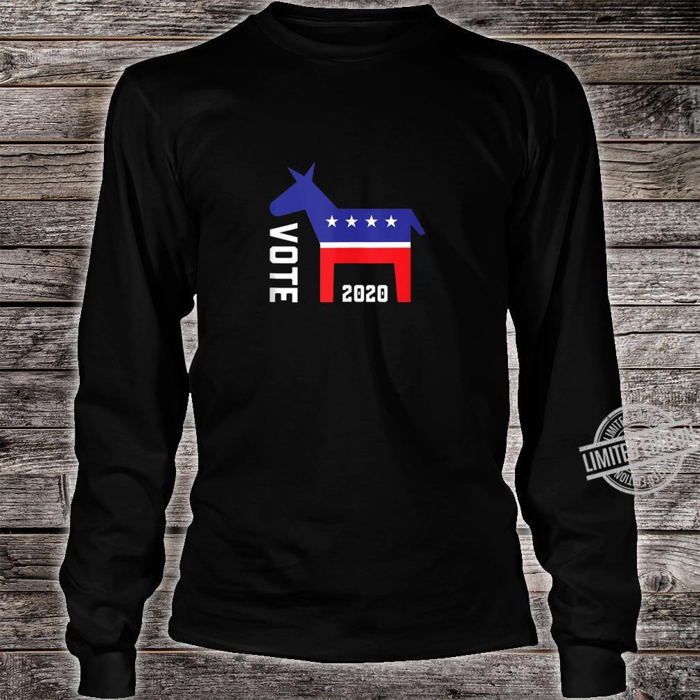 Vote Democrat 2020 Elections Shirt long sleeved