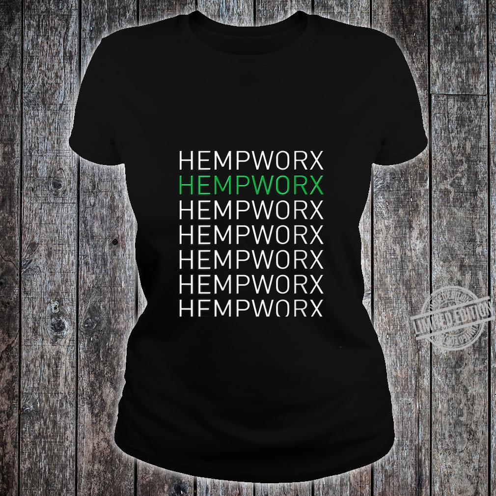 Womens Hempworx Shirt ladies tee